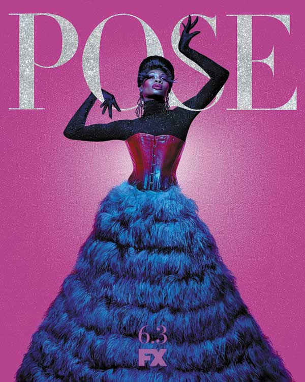 Affiche de al série LGBT Pose