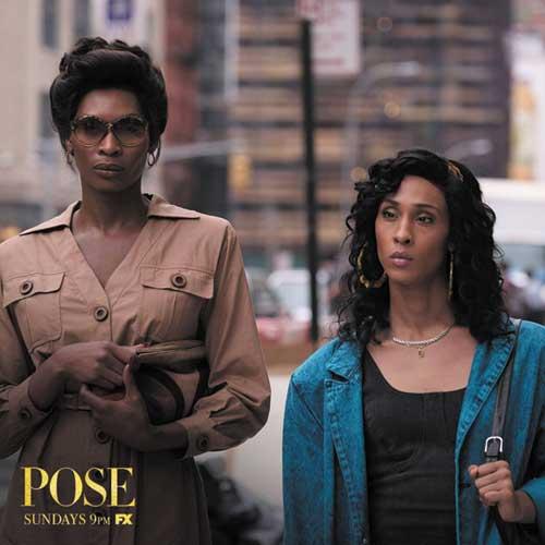 Elektra et Bianca de la série pose, sélection Wag, thématique LGBT