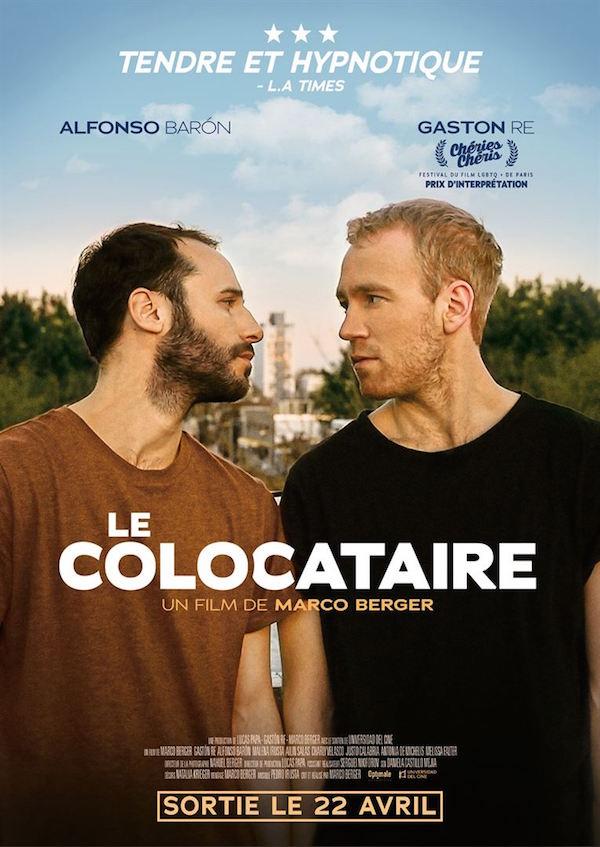L'affiche du film de Marco Berger, Le Colocataire