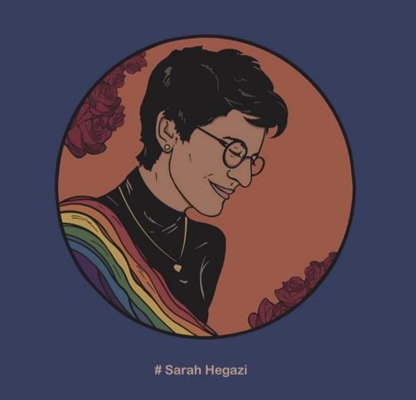 Sarah Hegazi Icône LGBT