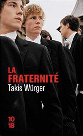 La Fraternité de Takis Wurger dans la sélection livres de WAG, histoire gay.