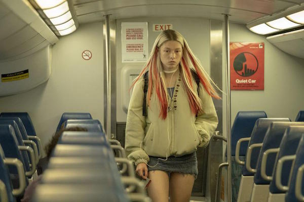 Hunter Schafer dans Euphoria, teen drama LGBT photo HBO
