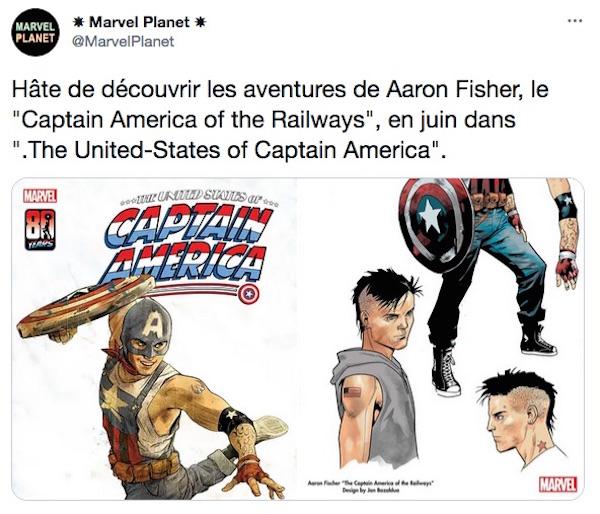 capture twitter / Captain America
