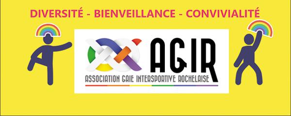 L'association du sport LGBT à La Rochelle en France